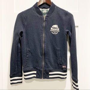 ROOTS Kids Bomber-Style Full-Zip Sweatshirt
